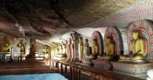 ダンブッラ黄金寺院