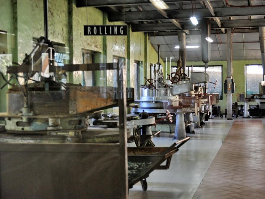 紅茶の精製過程
