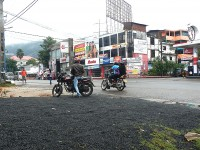 スリランカの道路
